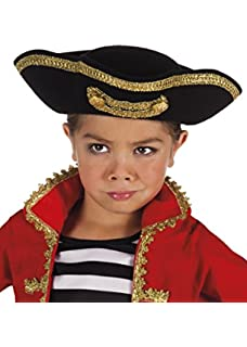 Kids Weathered Pirate Tricorn Hat  Amazon.co.uk  Toys   Games ed79a0bb33fb