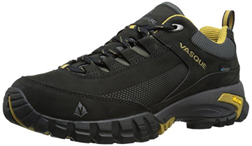 Vasque Men's Talus Trek Low UltraDry Hiking Shoe, Black/Dried Tobacco, 9 M US by Vasque