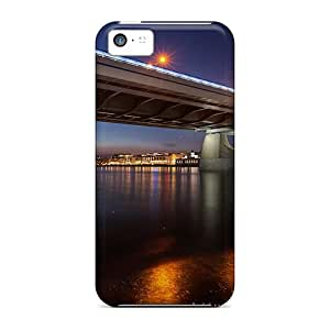 Hot Fashion GMo51015PpTq Design Cases Covers For Iphone 5c Protective Cases (dejctr 621 City Night In Madrid)