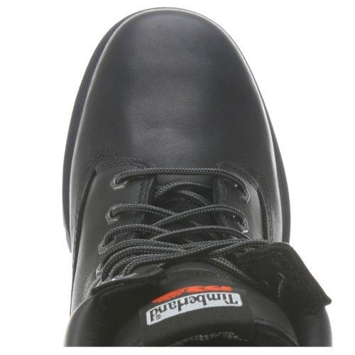 "Timberland Pro 6""seguridad puntera de acero impermeable y aislante de conexión directa para, color negro, talla 42 EU"