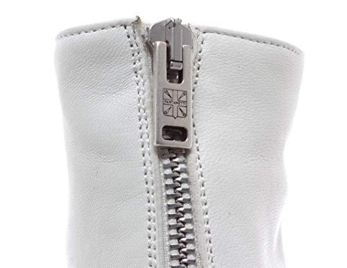 Bianco 12326d White Skin Donna Tronchetto Nuove Italy Pantanetti Softy Scarpe qgwxIx