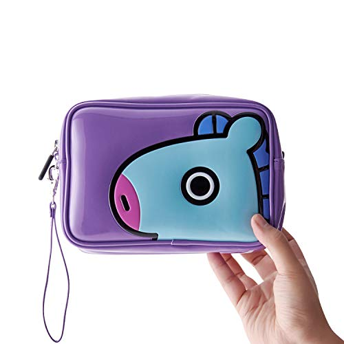 2c0854058388 BT21 Official Merchandise by Line Friends - MANG Enamel Cosmetic Bag ...