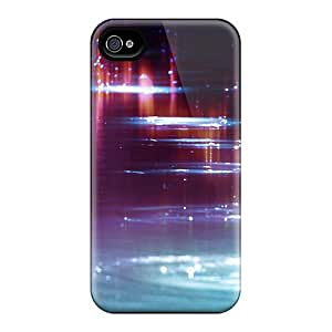 New Arrival Cover Case With Nice Design For Iphone 4/4s- Water Sparkle