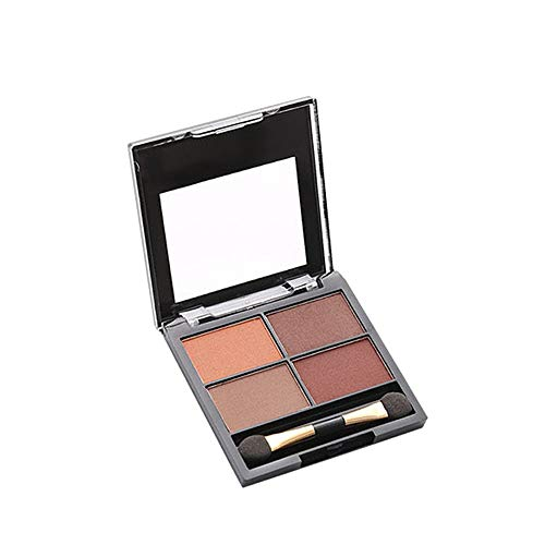 (Loyalt 4-color Matte High Pearlescent Eye Shadow Tray, Everyday Versatile)