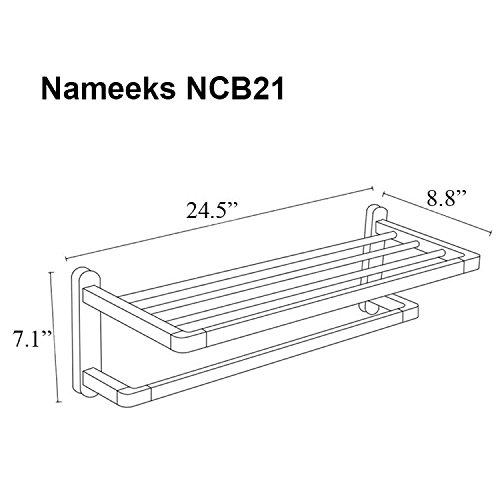 Nameeks NCB21 NCB Train Rack One Size Chrome by Nameeks (Image #1)