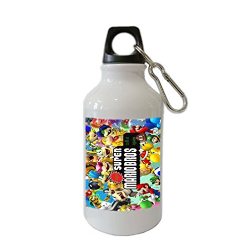 Super Mario Bros Customizable Personalization Home Outdoor Bike Mug Aluminum Alloy 400ml Stainless Steel Sports Water Bottle