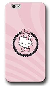 Cute Hello Kitty Pattern Hard Shell Case&Cover for iPhone 6 plus, High-quality iPhone 6 plus Case for Girls Amy901iP1HK3425ip6P nhl Boston Bruinss iPhone 6 plus Case