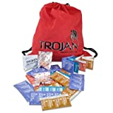 Trojan, Durex, and Crown Condoms 36 Condom Variety Pack