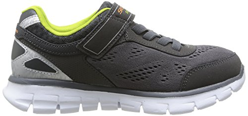 Skechers SynergyPower Rush Jungen Sneakers Grau (Char)