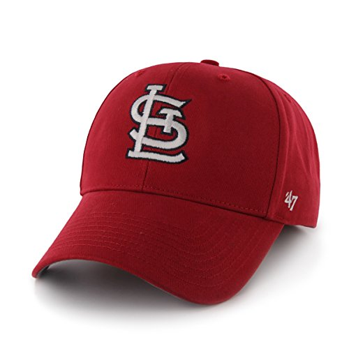'47 MLB St. Louis Cardinals Infant Basic MVP Adjustable Hat, Home Color ()