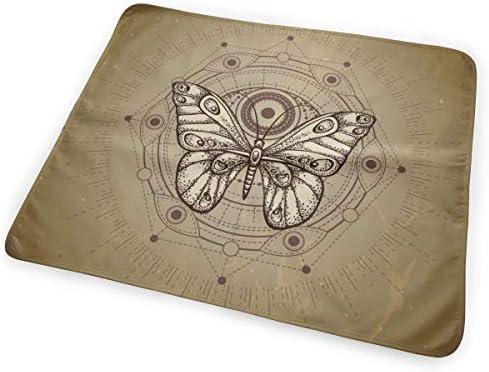 Mystic Sign Butter-fly 小さいながらも軽くて柔らかく快適な折り畳みが簡単なハイエンドのファッションシンプルなポップ絶妙なおむつパッド