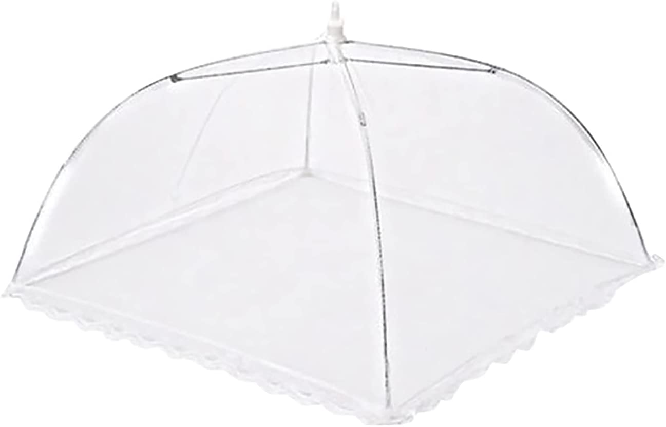 Qikafan Large Pop-up Mesh Screen Food Cover Umbrella Tents Outdoor Picnic Food Covers