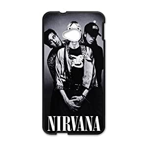 Happy Nirvana fashion durable Cell Phone Case for HTC One M7