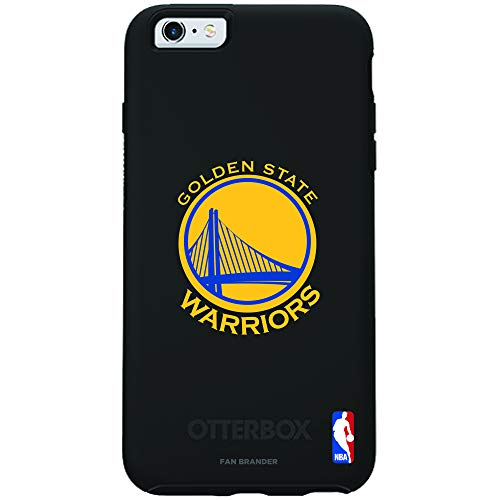 Fan Brander NBA Phone case, Compatible with Apple iPhone 6 and iPhone 6s with OtterBox Symmetry Series (Golden State -