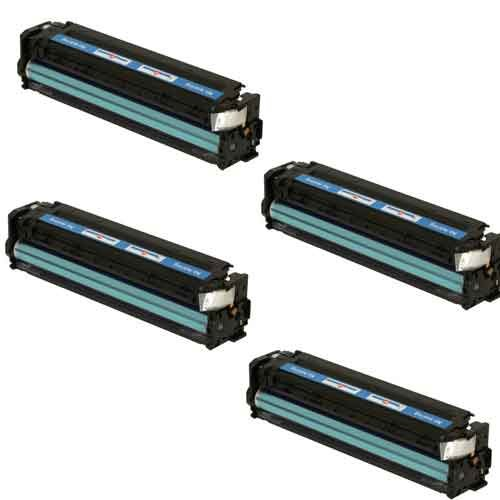Amsahr Remanufactured Ink Cartridge Replacement for HP C9351AN ( Black , 4-Pack ) Cb543a Set