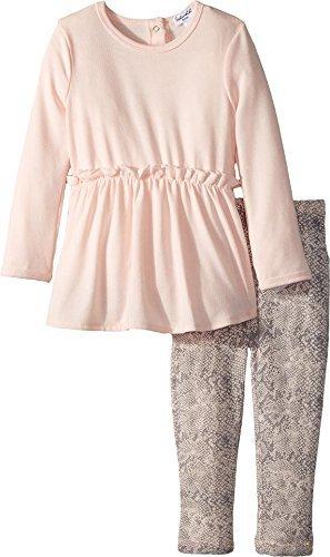 Splendid Littles Baby Girls Python Print Legging Set, Light Pink, 6-12 MO (Splendid Littles Leggings)