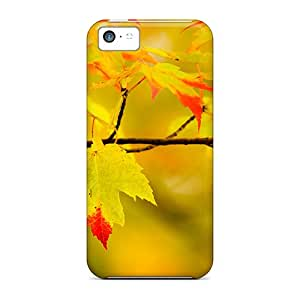 For QFYVvoa3856YRIAO Yellow Leaves Protective Case Cover Skin/iphone 5c Case Cover