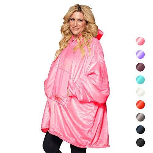 Top 10 recommendation comfy blanket sweatshirt pink 2020