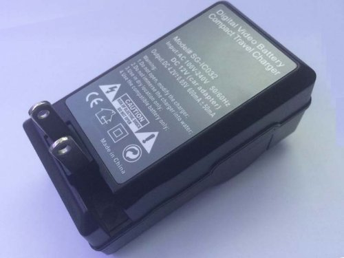 Portable AC CR-V3 Battery Charger for KODAK EasyShare Z712 is Z8612 ZD710 C310 (Crv3 Charger)