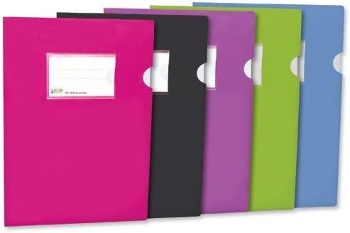 Seco SF10-BK - Dossier oxo-biodegradable y reciclable (10 unidades ...