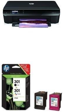 HP ENVY 4500 Pack - Impresora multifunción de tinta + Juego de 2 ...