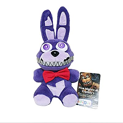 Y-Trust 18cm Five Nights at Freddy's 4 FNAF Nightmare Bonnie Rabbit Plush Toys Soft Stuffed Animals Toys Doll for Kids Gifts: Home & Kitchen