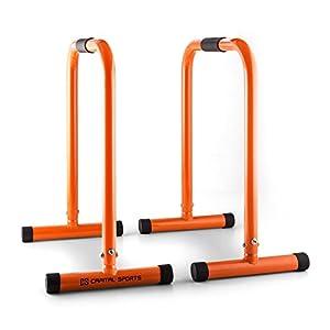 Capital Sports Orange Cross Training Equalizer Fitness Reck-Barren-Ständer...