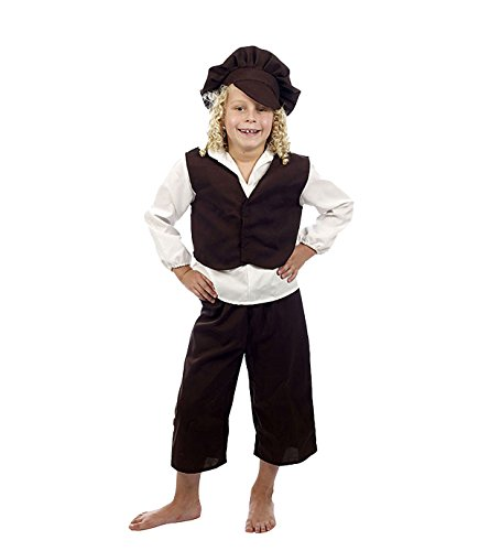 Oliver Twist Womens Costumes - Child Boys Poor Victorian Urchin, Oliver
