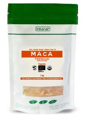 Maca andina o maca del Perú en polvo Premium 1 Kilo. Maca gelatinizada