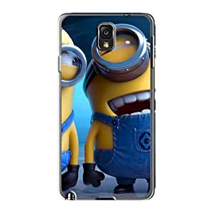 Shockproof Hard Phone Covers For Samsung Galaxy Note3 With Provide Private Custom Trendy Cartoon Movie 2014 Pattern AlissaDubois