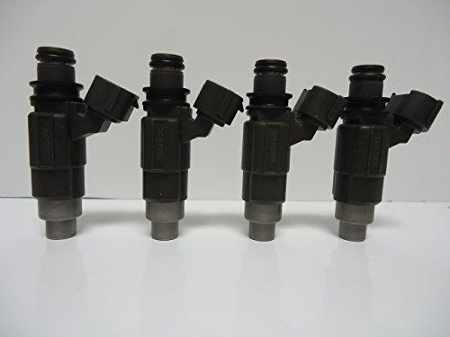 Suzuki Fuel Injector Set (Fuel Injector Set (4) for Suzuki DF60 - DF70 1998 to 2009 Part # 15710-66D00)