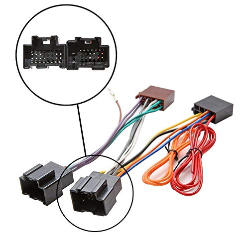Inex Car Stereo Radio ISO Wiring Harness Connector Adaptor Loom Cable for Saab 9-3: