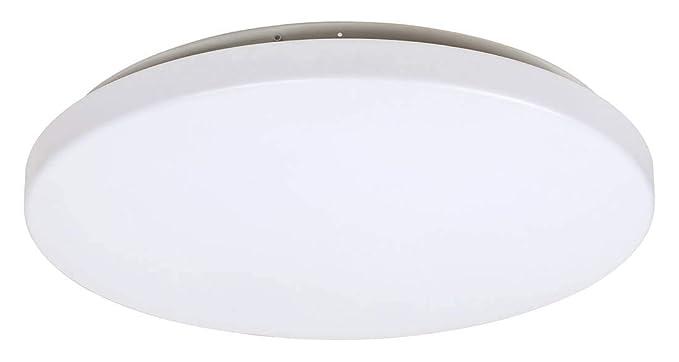 Globo Rob - Lámpara de techo (metal y plástico, 38 cm de ...