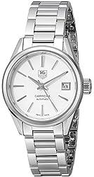 TAG Heuer Women's WAR2416.BA0770 Carrera Analog Display Swiss Automatic Silver Watch