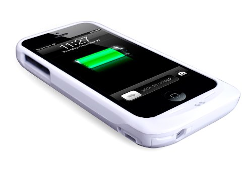 Iwalk PCC1900I5WH Phone Case for iPhone 5-Retail Packaging-White