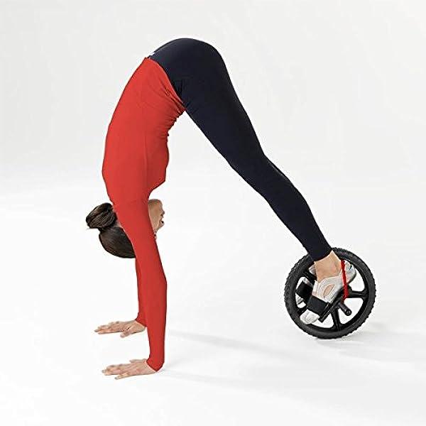 POWRX - Rueda Abdominal Ab Wheel para el potenciamento y la ...