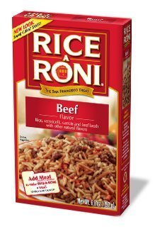 Rice A Roni, Beef Flavored Rice, 6.8oz (Pack of (Flavored Beef)