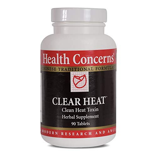 Cheap Health Concerns – Clear Heat – Clean Heat Toxin Herbal Supplement – Modified Chuan Yin Lian Kang Yang Pian – Supports Immune System – 90 Tablets