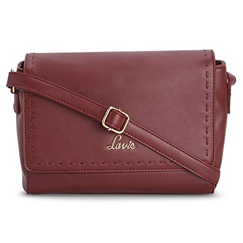 Portia Decorative Horizontal Flap Over Sling Bag
