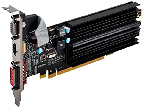 XFX ATI Radeon HD5450 1 GB DDR3 VGA/DVI/HDMI Low Profile PCI-Express Video Card HD545XZCH2 (Radeon 1gb Ddr3)
