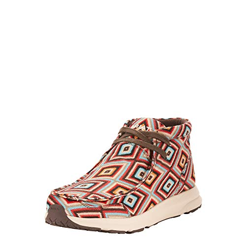 ARIAT Spitfire Aztec Print Size 7.5 B/Medium US