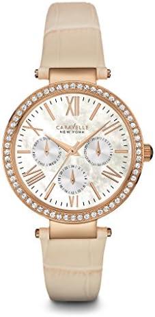 Caravelle New York Women s 44N105 Crystal Strap Bracelet