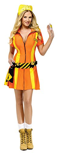 [Highway Hottie Sexy Costume - Womens Medium/Large 10-14] (Sexy Halloween Dress Up)