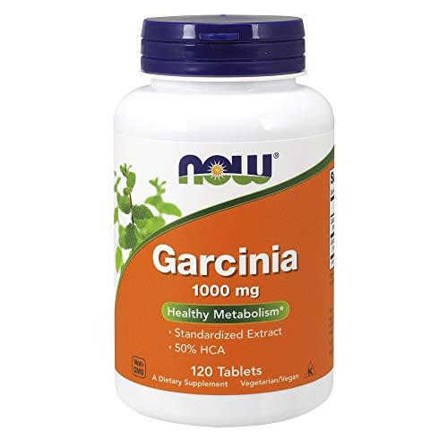 NOW Garcinia 1,000 mg, 120 Tablets