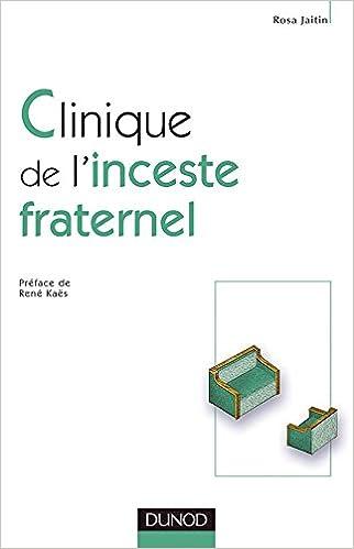 Livres gratuits en ligne Clinique de l'inceste fraternel pdf epub