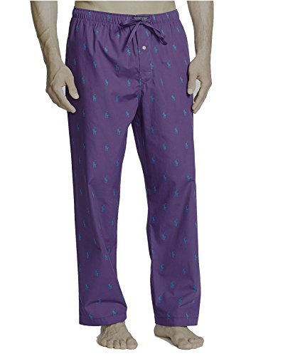 Polo Ralph Lauren Mens Multi-pony Pj Woven Pajama Pants at Amazon Mens Clothing store: Pajama Bottoms