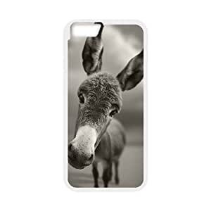 Donkey iPhone 6 Plus 5.5 Inch Cell Phone Case White S1Q8IL
