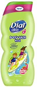 Dial Kids Body Wash, Watery Melon, 12 Ounce