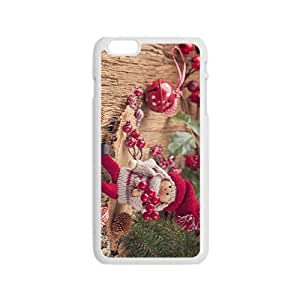 Dressing up For The Christmas Hight Quality Plastic Case for Iphone 6