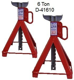US JACK D 41610 6 Ton Garage Stands Made In USA